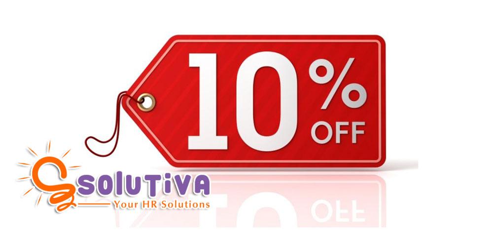 Masa Promosi, PT Solutiva Consulting Berikan Diskon 10% untuk Semua Layanan