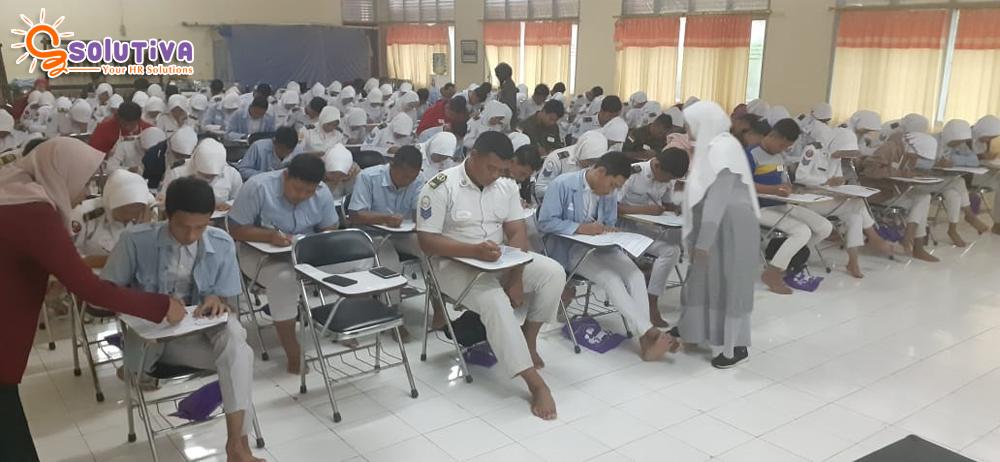 Psikotes Massal 685 Siswa SMK di Indramayu