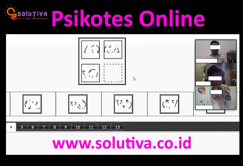Psikotes Online untuk calon karyawan PT Pelayanan Energi Batam (Anak Usaha PT PLN Batam) oleh PT Solutiva Consulting Indonesia.