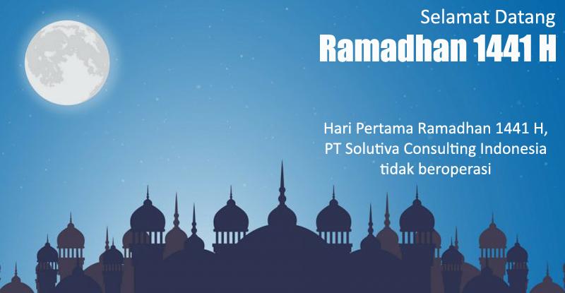 Hari Pertama Puasa Ramadhan 1441 H, Solutiva Consulting tidak Beroperasi