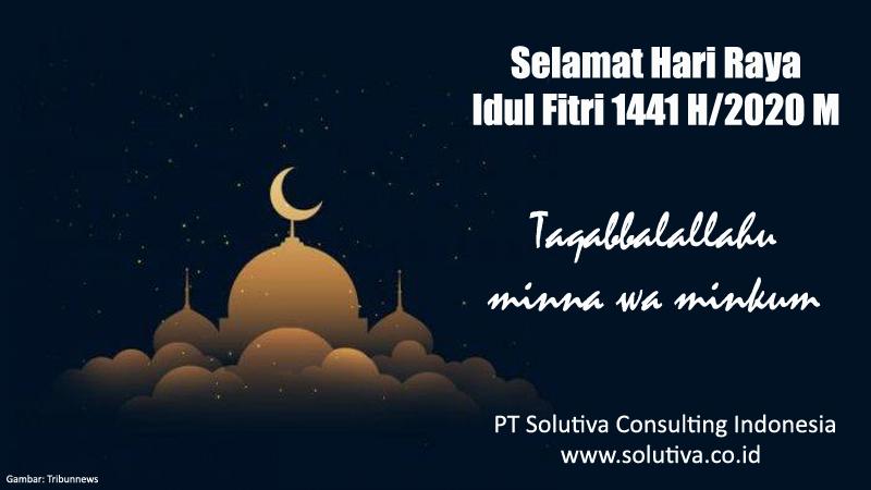 Informasi Libur Lebaran 1441 H Biro Psikologi PT Solutiva Consulting Indonesia