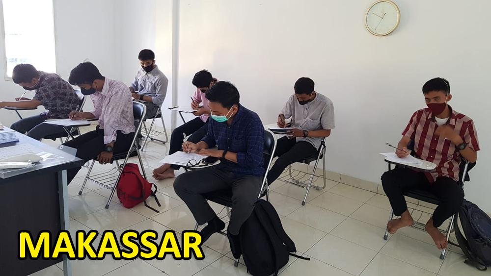 Pelaksanaan Psikotes di Makassar